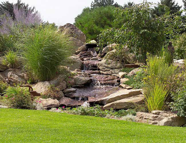 mountain landscape design images